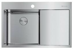 Врезная кухонная мойка OMOIKIRI Akisame 78-IN-L