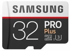 Карта памяти Samsung microSDHC PRO Plus 100MB/s + SD adapter