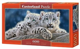 Пазл Castorland Snow Leopard Cubs (B-060115), 600 дет.