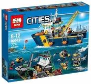 Конструктор Lepin Cities 02012 Корабль исследователей морских глубин
