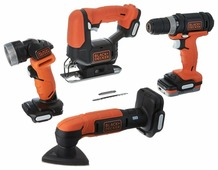 Набор инструмента Black&Decker BDCK502C1