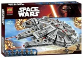 Конструктор BELA (Lari) Space Wars 10467 Сокол Тысячелетия