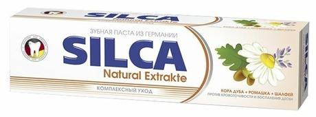 Зубная паста SILCA Natural Extrakte