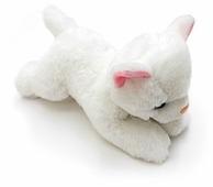 Мягкая игрушка Button Blue Котёнок белый 13 см