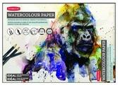 Альбом для акварельных карандашей Derwent Watercolour Pads 59.4 х 42 см (A2), 300 г/м², 12 л.