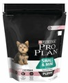 Корм для щенков Purina Pro Plan Optiderma для здоровья кожи и шерсти, лосось с рисом (для мелких пород)