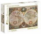 Пазл Clementoni High Quality Collection Древняя карта мира (31229), 1000 дет.