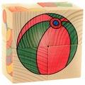 Кубики-пазлы Развивающие Деревянные Игрушки Игрушки Д482а