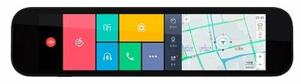 Видеорегистратор Xiaomi Smart Rearview Mirror, GPS, ГЛОНАСС