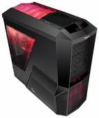 Компьютерный корпус Zalman Z11 Plus HF1 Black/red
