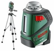 Лазерный уровень BOSCH PLL 360 Set (0603663001) со штативом