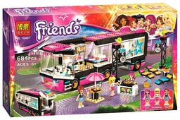 Конструктор BELA Friends 10407 Автобус поп-звезды