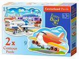 Набор пазлов Castorland Airport Adventures (B-020072)