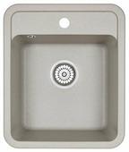 Врезная кухонная мойка Granula 4202 42х50см искусственный гранит