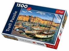 Пазл Trefl Старый порт Сен-Тропе (26130), 1500 дет.