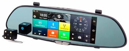 Видеорегистратор Vizant 957NK, 2 камеры, GPS
