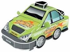 3D-пазл Pilotage 3D Машина зеленая (RC38109)