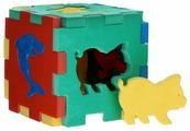 Сортер Флексика Кубик с животными