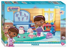 Пазл Step puzzle Disney Доктор Плюшева (81132), 60 дет.
