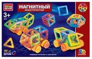 Магнитный конструктор ГОРОД МАСТЕРОВ Магнитный 4012