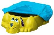 Песочница-бассейн PalPlay (Marian Plast) Собачка с тентом