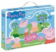 Пазл Origami Peppa Pig Семья Пеппы (01537), 24 дет.