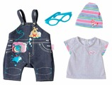Zapf Creation Комплект джинсовой одежды для куклы Baby Born 822210 в ассортименте