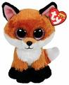 Мягкая игрушка TY Beanie boos Лисёнок Slick 15 см