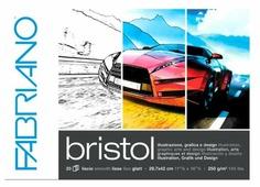 Альбом для рисования Fabriano Bristol 42 х 29.7 см (A3), 250 г/м², 20 л.