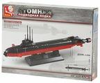 Конструктор SLUBAN Военно-морская серия M38-B0391 Атомная подводная лодка