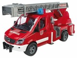 Машина пожарная BRUDER MB Sprinter с лестницей и помпой (02532)