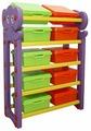 Стеллаж для хранения игрушек Happy Box JM-809D с крышками