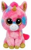 Мягкая игрушка TY Beanie boos Единорог Fantasia 33 см