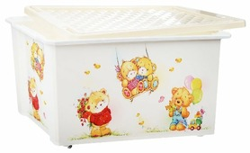 Контейнер Little Angel Bears 57 л (LA1025МИШ-НК)