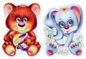 Набор пазлов Vladi Toys Лесные жители (VT3208-03)