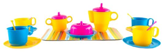 Набор посуды Пластмастер Чаепитие 22016