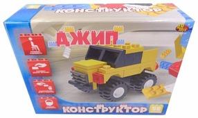 Конструктор ABtoys Транспортные средства PT-00450 Джип