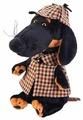 Мягкая игрушка Basik&Co Пёс Ваксон в накидке 29 см