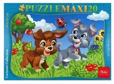 Пазл Hatber MAXI Веселые щенки (20ПЗ5_13406), 20 дет.