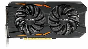 Видеокарта GIGABYTE GeForce GTX 1050 1379Mhz PCI-E 3.0 2048Mb 7008Mhz 128 bit DVI 3xHDMI HDCP Windforce