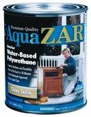 Лак ZAR Aqua Interior Water-Based Polyurethane полуматовый (0.95 л) полиуретановый