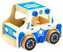 Винтовой конструктор Мир деревянных игрушек Д429 Полиция