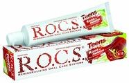 Зубная паста R.O.C.S. Teens Кола и Лимон 8-18 лет