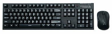 Клавиатура и мышь Zalman ZM-KM870RF Combo Black USB