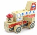 Пирамидка Мир деревянных игрушек Автомобиль-конструктор 4
