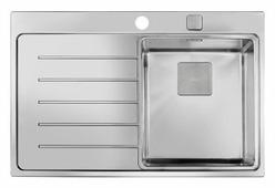 Врезная кухонная мойка TEKA Zenit R15 1B 1D Rhd 78 78х52см нержавеющая сталь