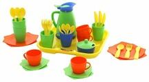Набор игрушечной посуды Полесье Алиса на 4 персоны / 40640