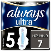 Always прокладки Ultra Night Secure
