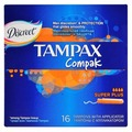 Тампоны TAMPAX Compak Super Plus 16 штук (4015400219620)