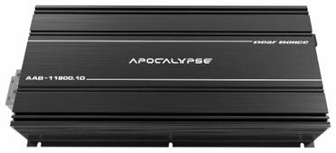 Автомобильный усилитель Alphard Apocalypse AAB-11800.1D